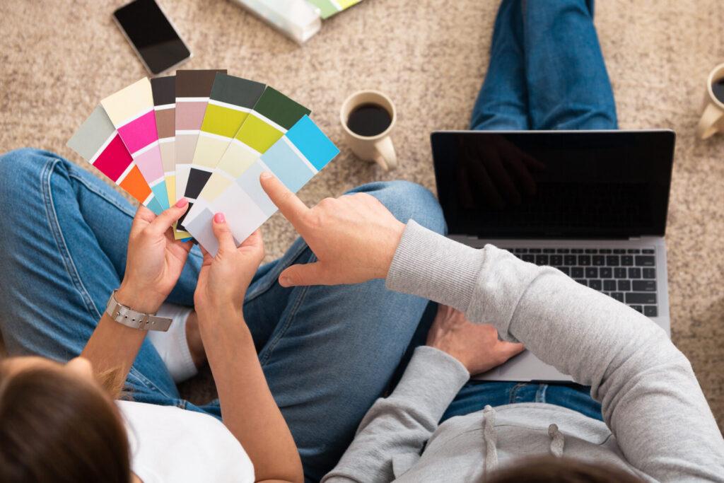 Farby do ścian – co warto wiedzieć aby wybrać idealnie? 1