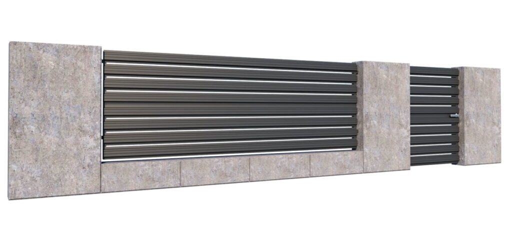 Sztachety metalowe na ogrodzenie – wady i zalety 3