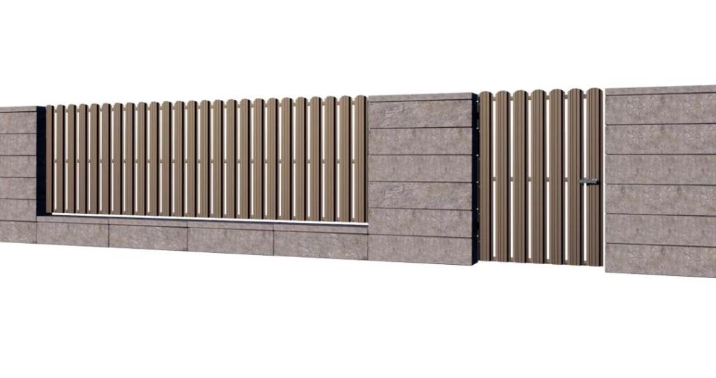 Sztachety metalowe na ogrodzenie – wady i zalety 4